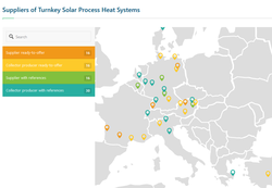Solrico news 2017 was a record year for the global solar industrial heat market at least 110 large systems providing solar heat for industrial processes were put into gumiabroncs Images